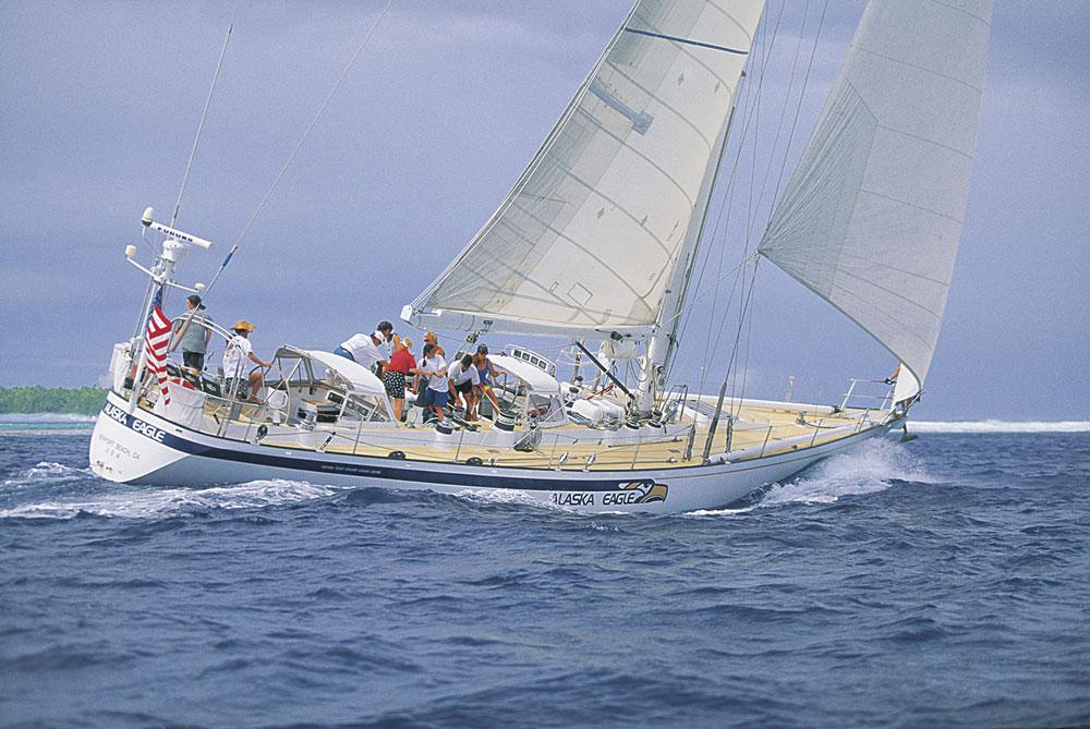 Alaska-Eagle-under-sail
