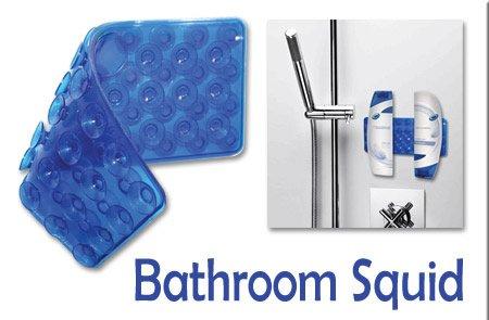 Bathroom squid