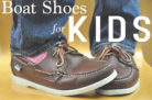 Boat Shoes For Kids